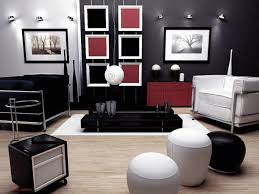 black and white living room decor matching modern and country house designs contemporary red black black and red furniture