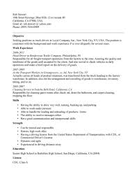 trucking resume examples cipanewsletter photo truck driver resume examples images