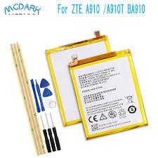 2540mAh <b>for ZTE</b> Blade V7 Z10 BA910 A910 A512 <b>Battery</b> ...