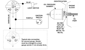 oil pressure switch wiring diagram oil image troubleshooting teleflex oil pressure gauges inboard stern drive on oil pressure switch wiring diagram