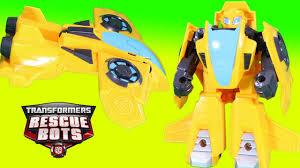 Transformers Rescue Bots <b>Bumblebee Jet</b> Plane Mode Awesome ...