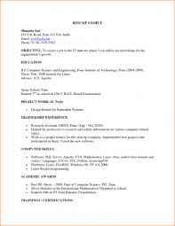 sample resume for embedded software engineer fresher cipanewsletter sample resume for software engineer fresher job sample resumes