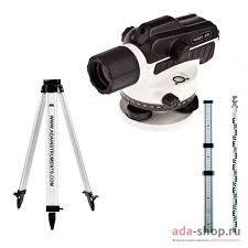 <b>Нивелир оптический ADA RUBER</b>-Х32 + Light S + Staff3 A00121_K