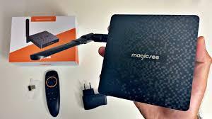 <b>Magicsee N6 Plus</b> Full <b>Android</b> 9 TV Box / S922X / 4+128GB - £99 ...