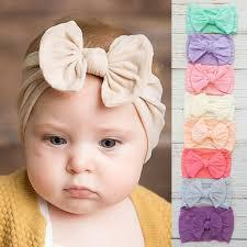 <b>Hot Sale</b> Cute Toddler Infant <b>Baby</b> Boys Girls Bowknot <b>Headband</b> ...