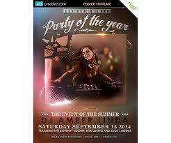 classy event poster template for party event event poster template party flyer event flyer template