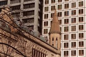 the old anz headquarters on the corner of queen and collins streets has a gothic style anz melbourne office