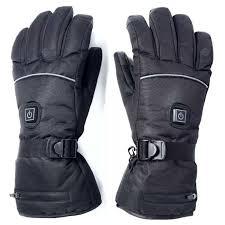 Third Gear Electric Heating Gloves Autumn Winter Warm Ski Glove ...