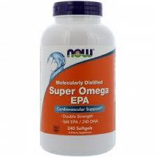 Now Foods, <b>ЭПК Super Omega</b>, <b>очищенная</b> на молекулярном ...