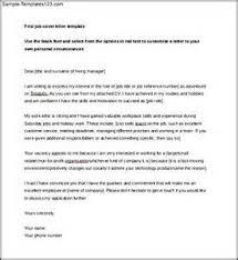 sample cover letter lvn sle