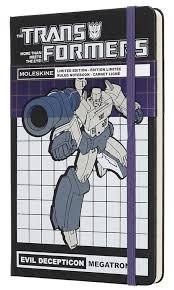 "Блокнот в линейку Moleskine ""Transformers"" <b>Large</b> 130x210 <b>мм</b> ..."