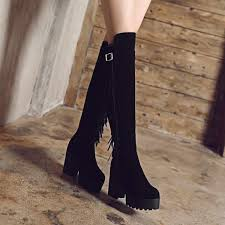 Big <b>Size 34-44</b> Over the Knee Boots <b>for</b> Women Sexy High Heels ...