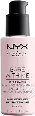 <b>NYX Professional Makeup</b> Bare With Me Hemp Deily Moisturizing ...