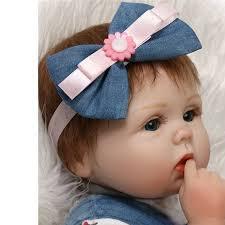 OUBEIER 22'' Realistic Reborn Baby Doll Girls <b>Full Body Soft</b> ...
