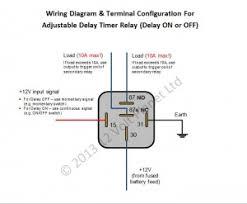 12v adjustable delay timer relay delay on off 12 volt planet search