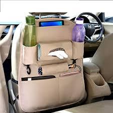 Coku <b>Universal Back Seat Car</b> Organizer Multi Pocket Storage with ...
