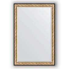 <b>Зеркало Evoform Exclusive-G 124х99</b> вензель бронзовый купить ...