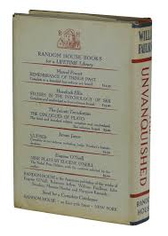 the unvanquished william faulkner first edition the unvanquished faulkner william