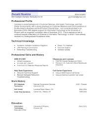 professional profile resume examples resume badak professional profile resume examples