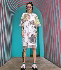 <b>2018 Summer New Women</b> Dresses Two Fake Gauze Mesh Short ...