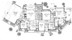 Salida Manor Luxury Ranch Home Plan D    House Plans and MoreLuxury House Plan First Floor   D    House Plans and More