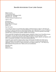 resume cover letter for system administrator sample resumes resume cover letter for system administrator systems administrator cover letter example cover letter examples administrationbenefits administrator