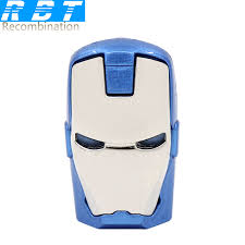 RBT <b>Usb Flash Drive Real</b> Capacity High Speed Iron Man 8GB ...