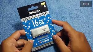 Unboxing <b>USB Toshiba</b> 16GB TransMemory <b>USB</b> 2.0 <b>Flash Drive</b> ...