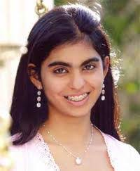 Isha Ambani, the daughter of Mukesh and Nita, and is the youngest billionaire heiress.
