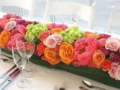 Image result for low  flower arrangements for tables