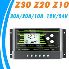 3pcs solar30 30a lcd solar charge controller 12v 24v pv panel battery charger system home indoor use 2014 new