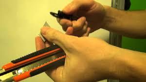 Заменить <b>лезвие</b> канцелярского ножа — как обновить <b>лезвие</b> в ...