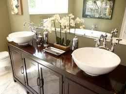 ideas bathroom sink metal legs console