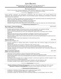financial analyst resume sample fresh graduate investment financial executive resume