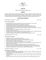 warehouse resume samples berathen com warehouse resume samples to inspire you how to create a good resume 17