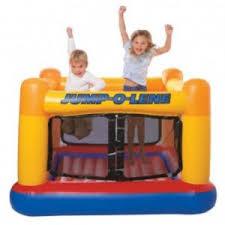 Детский надувной <b>батут Intex</b> Jump-o-Lene   Отзывы покупателей