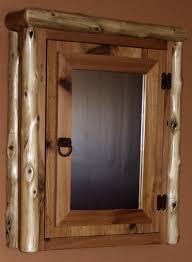 Rustic Wood Medicine Cabinet Cedar Log Reclaimed Cedar Medicine Cabinet Barn Wood Furniture