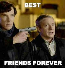 A very strong friendship... - The Meta Picture via Relatably.com