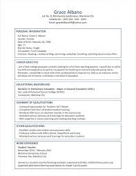 sample resume for experienced cipanewsletter sample resume format for fresh graduates two page format resume