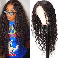 Nadula Virgin Human <b>Hair Magic</b> Wet WaveWigs <b>13x4</b> Lace Front ...