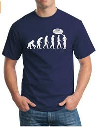 <b>Stop Following Me Caveman</b> Evolution Summer Fashion Men'S ...