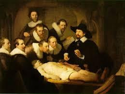 Resultado de imagen de leccion de anatomía rembrandt