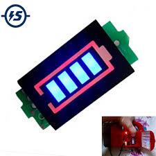 1S Single 3.7V <b>Lithium Battery Capacity Indicator</b> Module 4.2V Blue ...