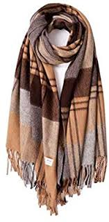 XY Scarf-Plaid Scarf Female <b>Autumn</b> and <b>Winter</b> Wild Men and ...