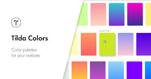 Tilda <b>Colors</b>. <b>Color</b> palettes for your website.