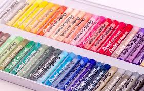 Набор Pentel Oil Pastels (масляная <b>пастель</b>, 50 <b>мелков</b>) PHN-50 ...