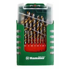 <b>Набор сверл Hammer</b> No8 25шт. 1,0-13мм - цена, отзывы, фото ...