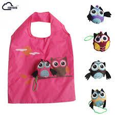 2017 <b>Cute Animal Owl</b> Shape Folding Shopping Bag Eco Friendly ...