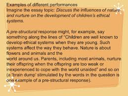 an inquiry on solo ignition knowledge attack what did know examples of different performances imagine the essay topic discuss the influences of nature and nurture