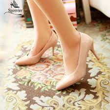 <b>SGESVIER</b> Women Pumps Ankle Strap Shoes For Woman Thin ...